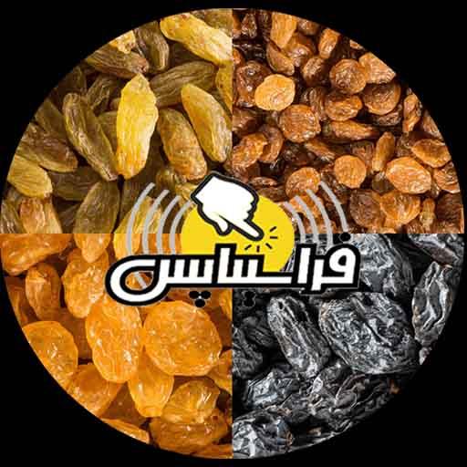 قیمت ۹۸ کشمش مویز بی دانه
